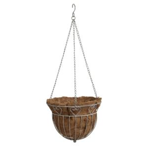 View Blooma White Wash Hanging Basket details