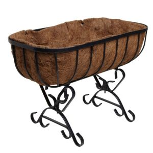 View Cradle Planter Black, (H)400mm details
