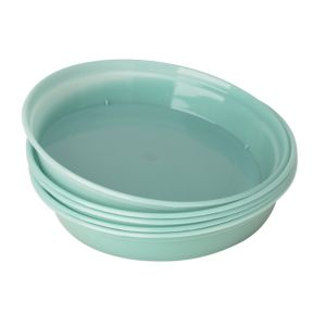 View Verve Blue Plastic Saucer (Dia)135mm, Pack of 5 details