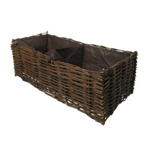 View Verve Natural Willow Climbing Vegetable Planter details