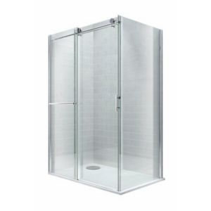 View Cooke & Lewis Eclipse Rectangular Shower Enclosure & Tray LH (W)1400mm (D)900mm details