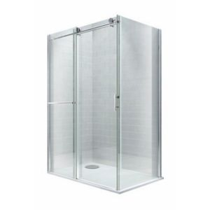 View Cooke & Lewis Eclipse Rectangular Shower Enclosure & Tray RH (W)1400mm (D)900mm details