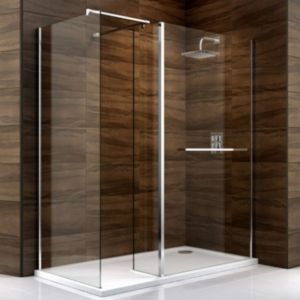 View Cooke & Lewis Cascata Rectangular Shower Enclosure RH (W)1700mm (D)900mm details
