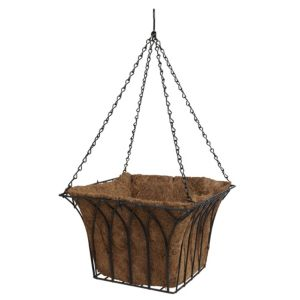 View Blooma Black Hanging Basket details