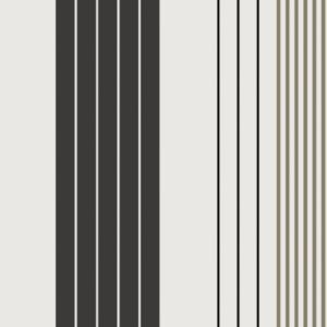 View B&Q Paste The Paper Rocky Stripe Black & Grey Wallpaper details
