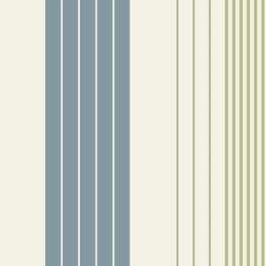 View Rocky Stripe Blue, Cream & Green Wallpaper details