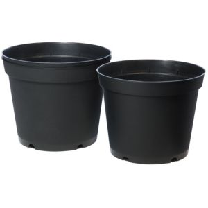 View Plastic Black Tomato Pot (Dia)22.5cm, Pack of 3 details