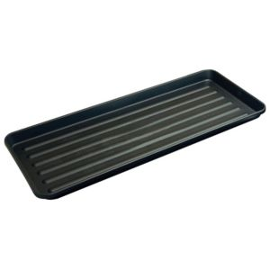View Verve Black Plastic Grow Bag Tray details