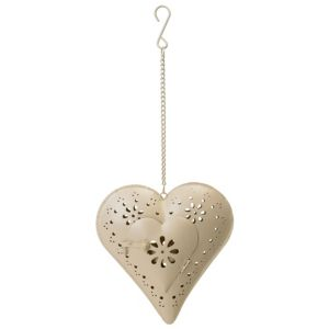 View Hanging Heart Tealight Candle Holder details