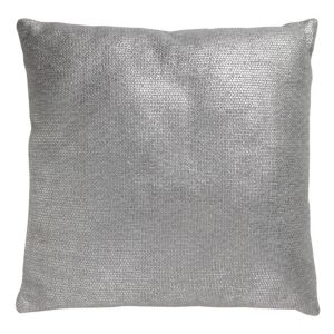 View Eolia Metallic Silver Effect Cushion details