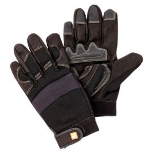 View B&Q Micro Fibre Work Gloves details