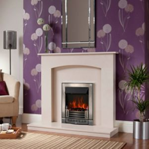 View Midland Marble (H)1.035 (W)1.168m Surround details
