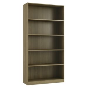 View Form Darwin Walnut Effect Bookcase (H)2004mm (W)1000mm (D)374mm details