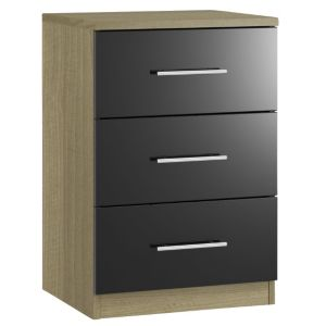 View Form Darwin 3 Drawer Chest (H) 737 mm (W) 500 mm details