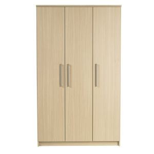 View Elsey Oak Effect 3 Door Wardrobe details