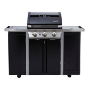 View Byron G350 3 Burner Gas Barbecue with Side Burner details