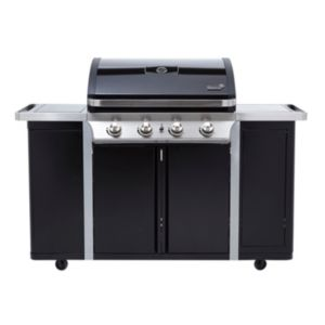 View Byron G450 4 Burner Gas Barbecue with Side Burner details