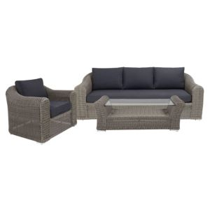 View Comoro Rattan Effect 3 Seater Coffee Set details