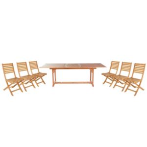 View Aland Wooden 6 Seater Dining Set details