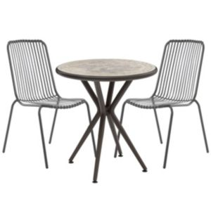 View Silene Metal 2 Seater Bistro Set details