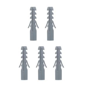 View B&Q Plastic Brickwork & Concrete Nylon Plugs, Pack of 50 details