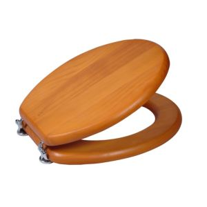 View Cooke & Lewis Dryade Antique Pine Toilet Seat details