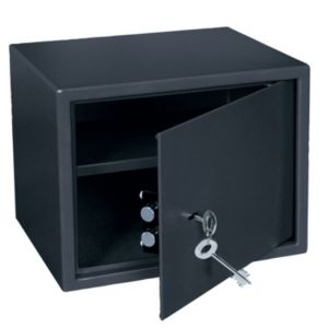 View B&Q Key Operated Large High Key Locking Safe details