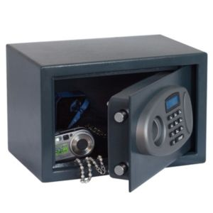 View B&Q Electronic Keypad Operated Small General Electronic Safe details