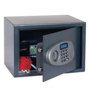 View B&Q Electronic Keypad Operated Medium Electronic Safe details