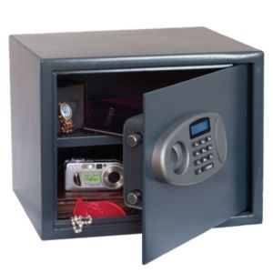 View B&Q Electronic Keypad Operated Large General Electronic Safe details
