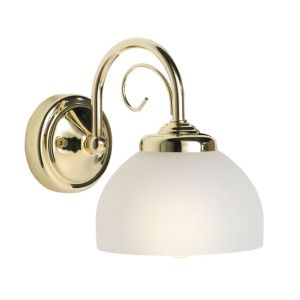 View Grantchester Brass Effect Single Wall Light details