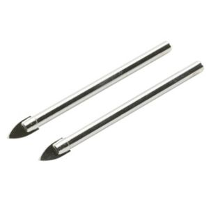 View B&Q Tile Drill Bit (Dia)6mm (L)75mm, 2 Piece details