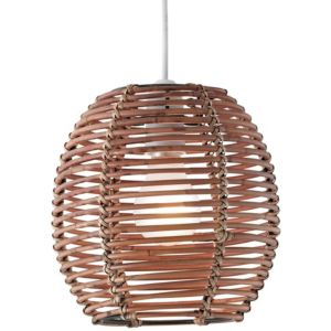 View Lights By B&Q Toulouse Brown Light Shade details