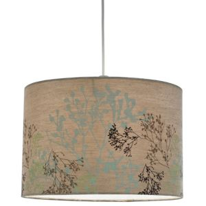 View Lights By B&Q Brown Silhouette Light Shade (D)35cm details