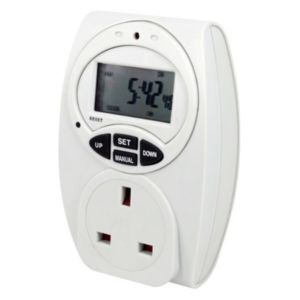 View B&Q 7 Day Electronic Timer details