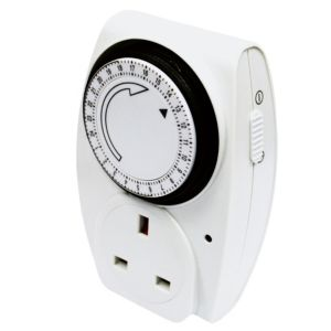 View B&Q 24 Hour Mechanical Timer details