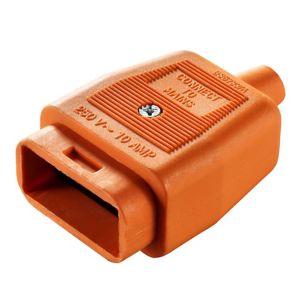 B&Q 10A 2 Pin Plug & Socket