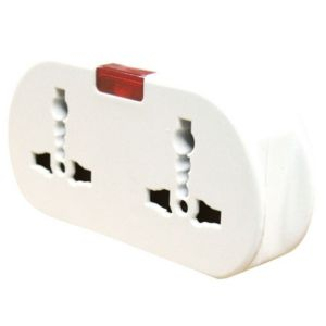 Image of B&Q ABS European Travel Adaptor