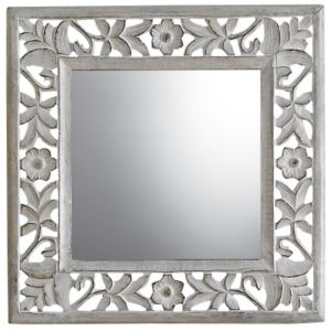View Colours Juliet Square Mirror (L)470mm (W) 470mm details
