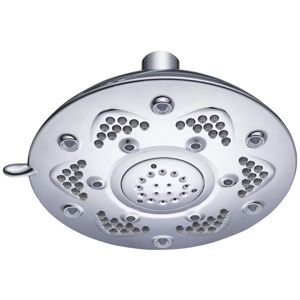 View Cooke & Lewis 3 Spray Mode Chrome Effect Shower Head details