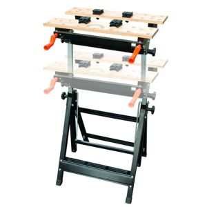 View B&Q 605 mm Steel 100 kg Vice Jaw Clamp Workbench details
