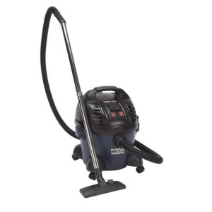 View Mac Allister MAC25-S Corded 240V Bagged Wet & Dry Vacuum MAC25-S details