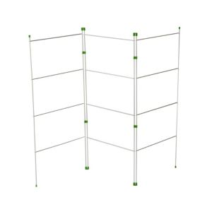 View B&Q White 3 Fold Gate Airer Pack of 1, (H)1.04m (W)500mm details