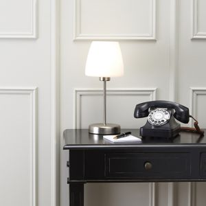 Image of Faith White Table lamp