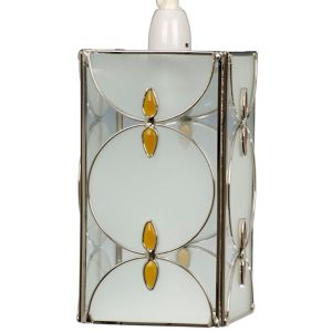 Image of Amber Tiffany style Light shade (D)150mm