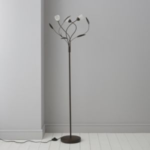 View Lights By B&Q Chloe Glass & Steel Halogen Floor Lamp details