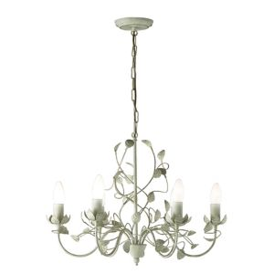 Image of Eva Cream 6 Lamp Chandelier Ceiling light
