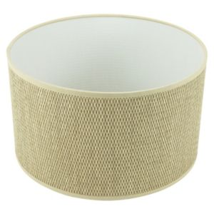 View Colours Beige Drum Light Shade (Dia)310mm details