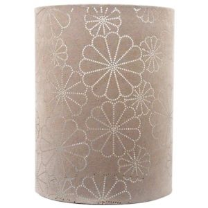 View Lights By B&Q Daisy Beige Laser Cut Light Shade (D)19cm details