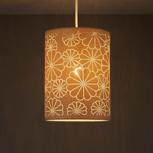 Image of Daisy Beige Laser cut Light shade (D)190mm